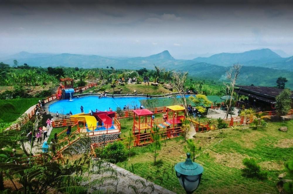 Khayangan Jonggol Bogor, Villa Sekaligus Tempat Wisata Alam Hits