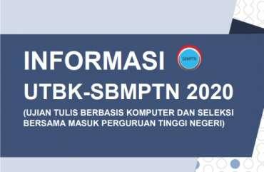 Cara Pembayaran UTBK SBMPTN 2020 Via Bank, Resmi!