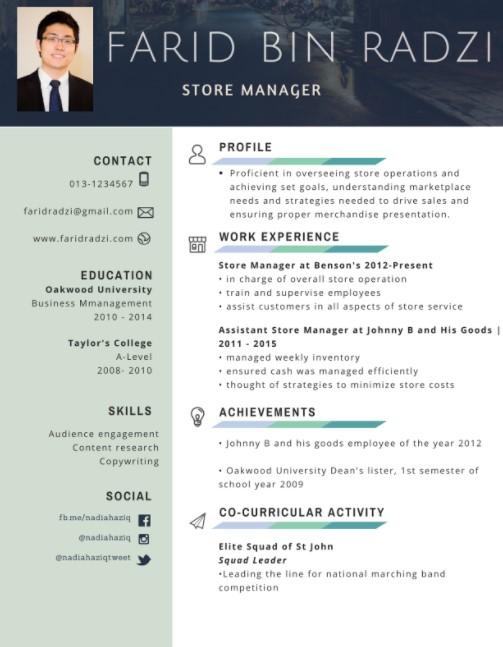 5 Contoh Resume Berbagai Keperluan Lamaran Kerja Tugas Kuliah Mamikos Info