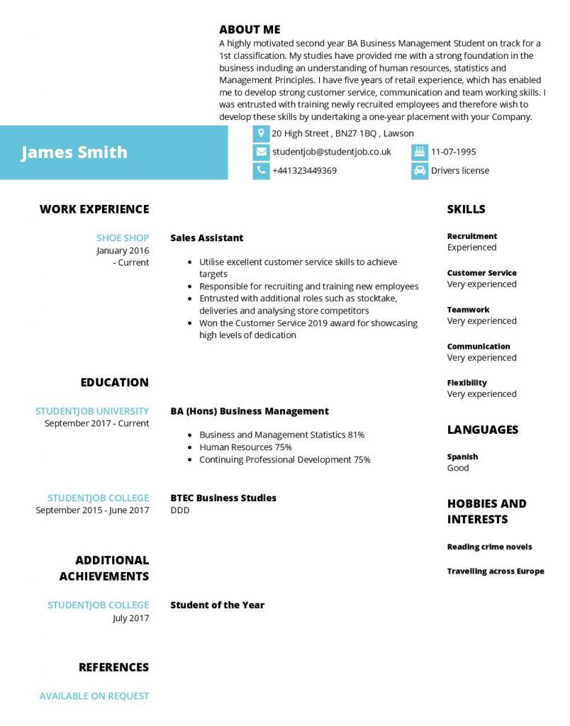 Contoh Cv Mahasiswa Beserta Tips Cara Membuatnya Mamikos Info