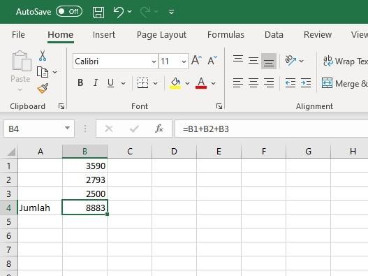 10 Contoh Rumus Excel Dan Cara Menggunakannya Lengkap Mamikos Info